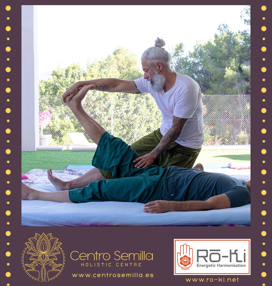 Thai Yoga Massage Ro-Ki Robert Bouchez Centro Semilla Valencia Elad Itzkin Yoga Photography