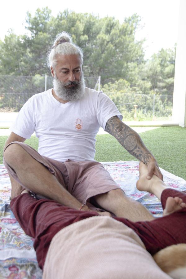 Massage course Valencia Russafa Robert Ro-ki Centro Semilla Valencia Self Healing Massage